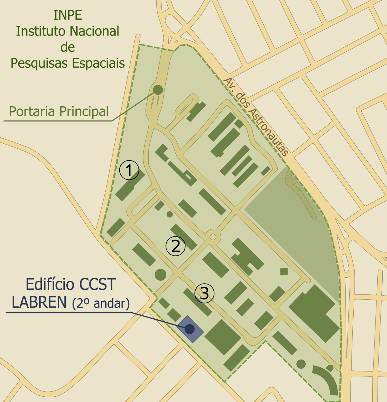 LABREN Location